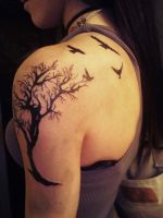 Tree of Life Tattoo by ngoc50