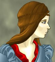 Medieval Woman by coradee