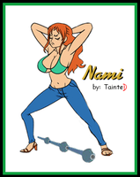 Nami Working It (pt 3) by geneforson
