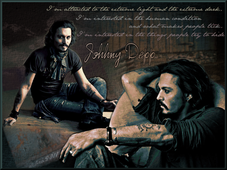 Johnny Depp Vanity Fair by debzdezigns-lamb68
