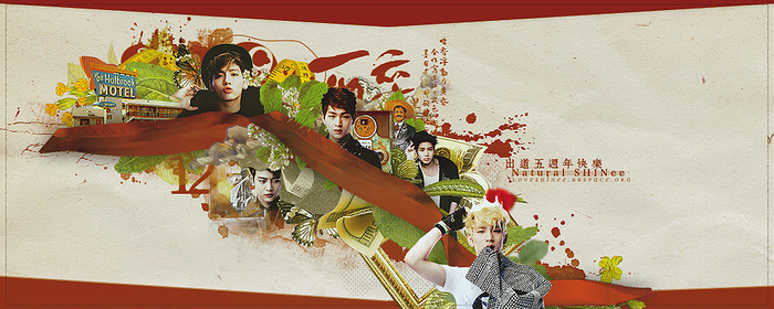 130504 SHINee by TaoWei
