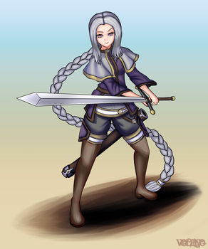 [Commission] Sylvia by Voleno