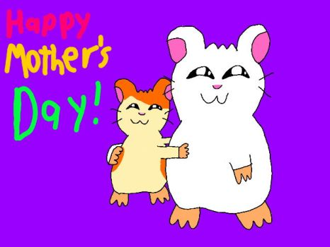 Happy Mother's Day from Hamtaro and Yuki by Legoboy186