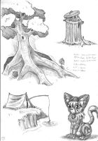 2011 sketchbook, page 1 by s0lar1x