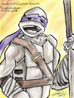 INKtober 25: Donatello by StephRatte