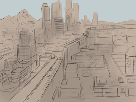 TLoD: Twin Cities Sketch by NewLegend1