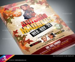Autumn Party Flyer Template by AnotherBcreation