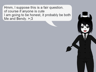 Ask OCs Series Inky Answer 1 by Stormtali