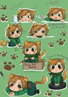 Cat Laurence by Yandere-Chibs