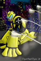 Dynamic Robot by TigerChickTigriss