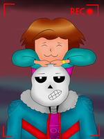 Late!Frisk and Late!Sans: Home video by MuskyCat90