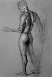 Study drawing #14 by Vangega