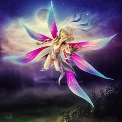 Night Fairy by Maucen