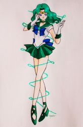 Sailor Neptune by NayaGm