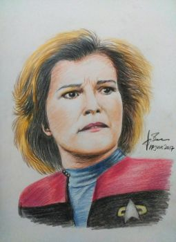 Janeway by guusebumps