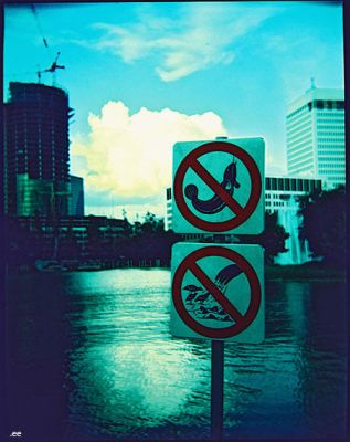 no fishing and feeding by eooes