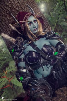 Sylvanas Windrunner Cosplay by MorganaCosplay