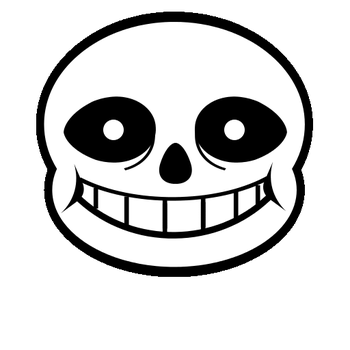 Sans Eye Transition GIF by ToaAntan