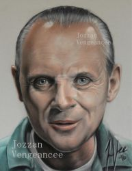 Hannibal Lecter/Anthony Hopkins by Vengeancee6661