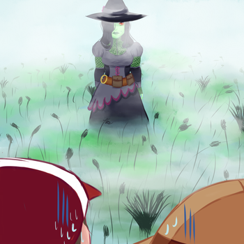 Contest Entry - Witch by pikachoo7