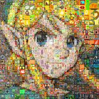 Link The Legend of Zelda Mosaic by Cornejo-Sanchez