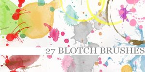 Blotch Brushes by Aless1984