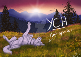 Morning stretch [YCH] - CLOSED by Pyalicious