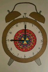 Mandela Clock  by Hellsmith5