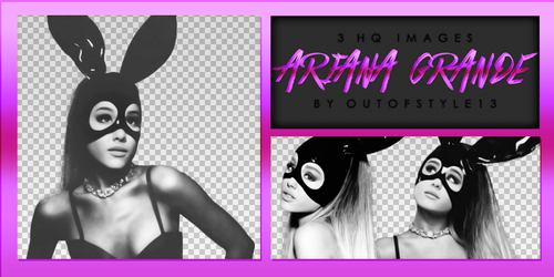 Ariana Grande PNG Pack by OutOfStyle13