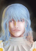 Griffith portrait by loneHUNGRYwolf