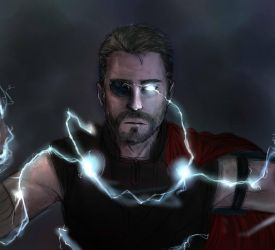 Thor(unfinished) by elf-artist87