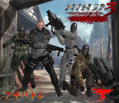 NG3RE LOA Mercenaries by SSPD077 by SSPD077