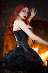 Striped Corset by Ariane-Saint-Amour