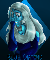 Blue Diamond Collab by Galactic-Cosmo