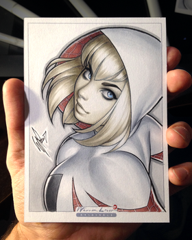 Spider Gwen by WarrenLouw