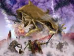 The Fall of Ald'ruhn by WilliamWeird