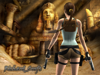 Remnants Of Egypt by Richard-Croft