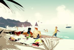 Another Summer Day by PascalCampion