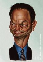 Gary Sinise by ElectroNic0