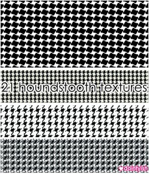 Hounds Tooth Textures by daintyish