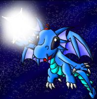Webdragio and a star. by papersak