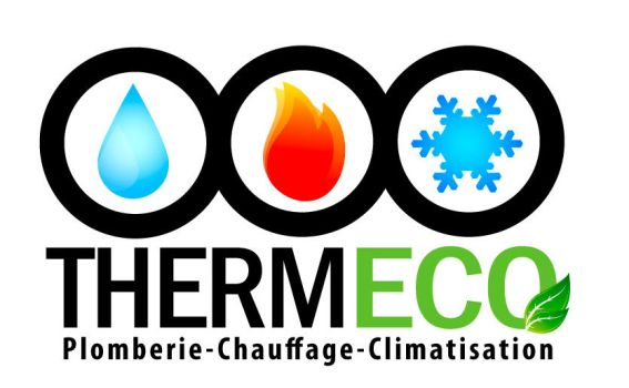 Logo thermeco by Hybrid-creation