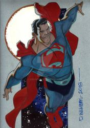 The Man of Steel SUPERMAN  commission by BroHawk