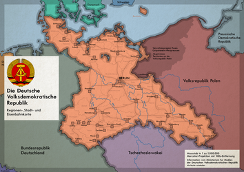 Deutsche Volksdemokratische Republik (Alternate) by Concleror