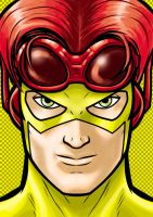 Kid Flash by Thuddleston