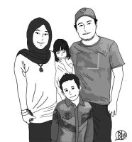 Kak Ida's Family by budoxesquire