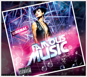 Famous Music CD Cover by RomacMedia