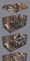 Warehouse - rooms's detailing by AnDary