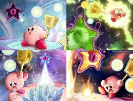Kirby Vs Dark Nebula by Blopa1987