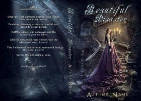 Beautiful Disaster - Premade book cover by Mihaela-V
